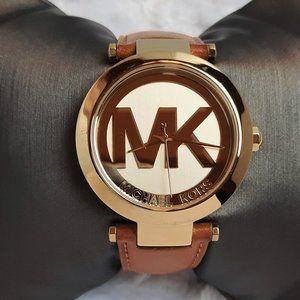 Michael Kors Logo Runway Ladies Watch